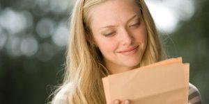 Невеста прочитала жениху письмо, написанное за 3 года до их знакомства. Что в нем было?