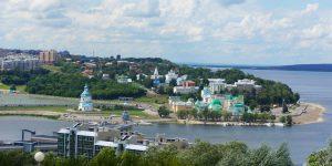 Мемориальный парк Победы в Чебоксарах