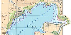 Бассейн Каспийского моря: площадь, протяженность, реки и прибрежные государства