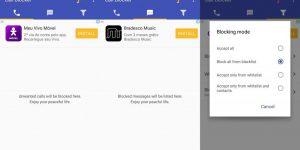 Приложения на «Андроид» для черного списка: обзор лучших