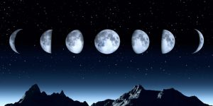 Растущая луна: с какого числа начинает расти?