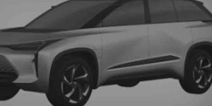 Компания Toyota Motor запатентовала дизайн новых полностью электрических кроссоверов: в Сеть просочились фото